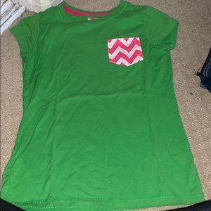worn handmade shirt
